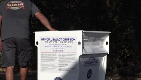 Secure-Ballot-Drop-Boxes-Drop-Off-Box-Is-Moved-Into-Position-By-Workers-In-Santa-Barbara-California-Prior-To-Us-Presidential-Elections-5
