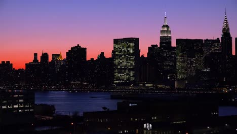 Beautiful-deep-dusk-shot-of-the-Manhattan-new-York-city-skyline-at-night-1