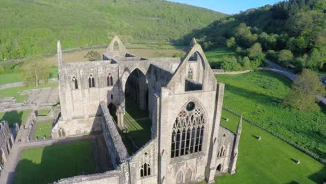 An-amazing-vista-aérea-view-over-the-Tintern-Abbey-in-Wales-United-Kingdom