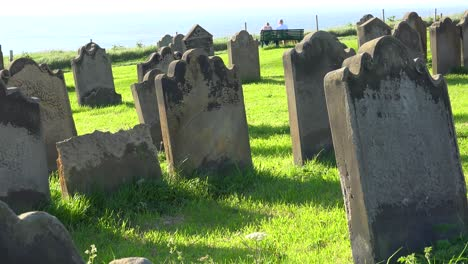 Old-stone-headstones-are-found-in-a-British-cemetery-1