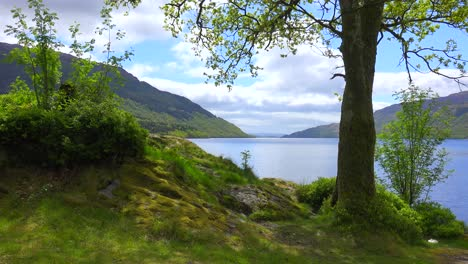 A-pretty-establishing-shot-of-Loch-Lomand-Scotland