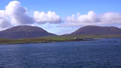 Una-Isla-Remota-Cerca-De-Las-Islas-Orcadas-De-Escocia
