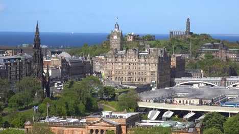 An-establishing-shot-of-the-Edinburgh-Scotland-skyline-1