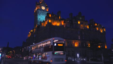 An-establishing-shot-of-Edinburgh-Scotland-at-night-3