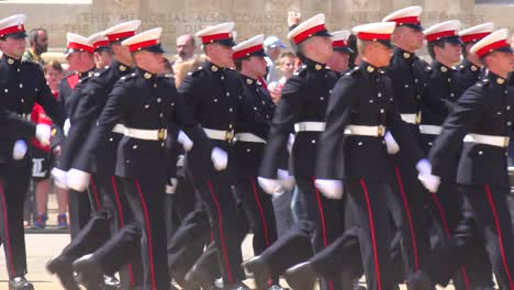 British-army-veterans-march-in-a-ceremonial-parade-down-the-Mall-in-London-England-4