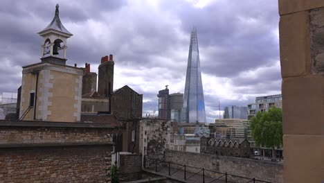 The-Shard-skyscraper-looms-over-the-rooftops-of-central-London-England