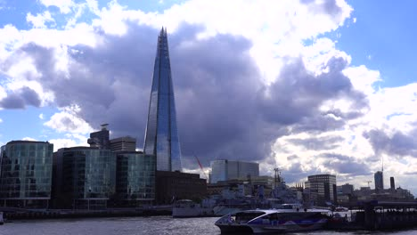 The-Shard-skyscraper-looms-over-the-Thames-River-in-London-England