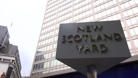 An-establishing-shot-of-Scotland-Yard-London-England
