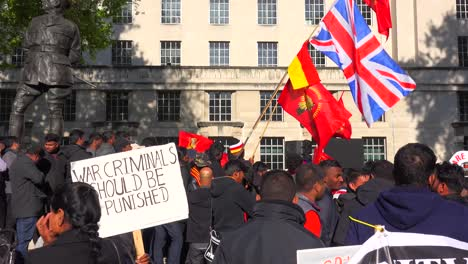 A-war-protest-by-Sri-Lankans-on-the-streets-of-London-England