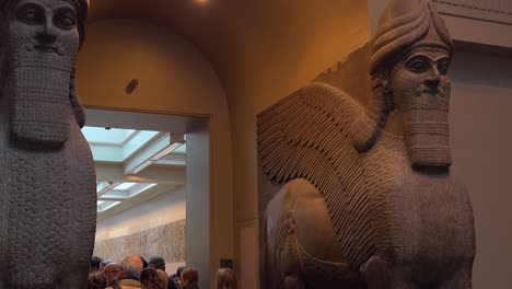 Famous-ancient-carvings-and-artifacts-excavated-at-Nimrud-Iraq-now-in-the-British-Museum-London-2