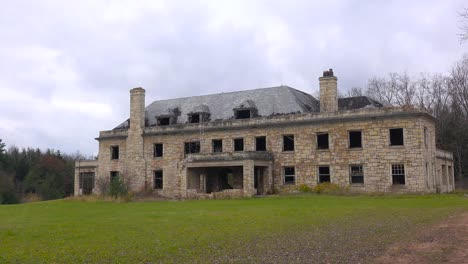 Time-lapse-of-an-abandoned-and-spooky-old-boarding-school-or-mansion-in-the-countryside-1