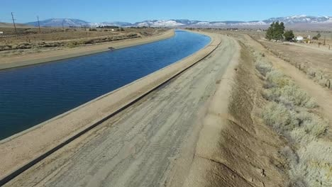 Aerial-over-the-California-aqueduct-delivering-water-to-a-drought-stricken-state