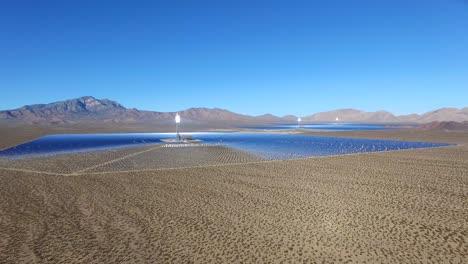 A-beautiful-vista-aérea-over-a-vast-concentrated-solar-power-farm-in-the-Mojave-Desert
