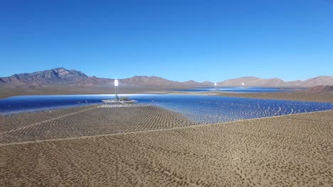 A-beautiful-aerial-over-a-vast-concentrated-solar-power-farm-in-the-Mojave-Desert-1