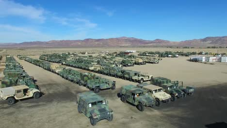 Vista-Aérea-over-a-military-vehicle-storage-depot