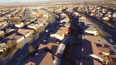 Aerial-over-vast-desert-housing-tracts-suggests-suburban-sprawl
