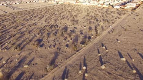 Aerial-over-vast-desert-housing-tracts-reveals-endless-suburban-sprawl