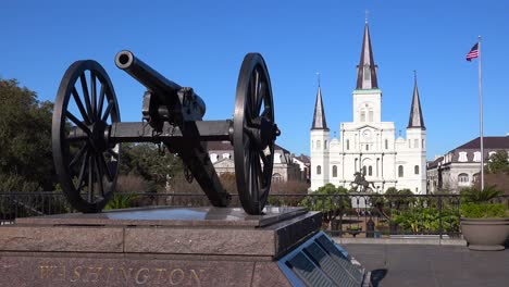 Beautiful-Jackson-Square-and-St-Louis-cathedral-in-New-Orleans-Louisiana-1