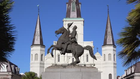 Beautiful-Jackson-Square-and-St-Louis-cathedral-in-New-Orleans-Louisiana-2