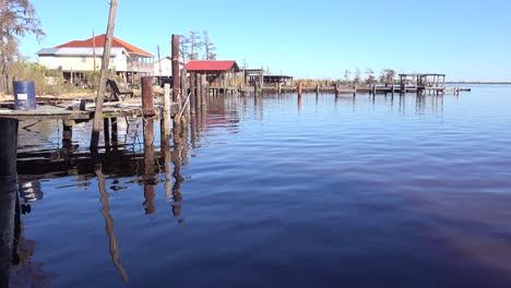 Szenen-Entlang-Des-Bayou-In-Louisiana