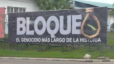 A-billboard-in-havana-proclaims-the-bad-effects-of-the-US-economic-blockade-on-Cuba