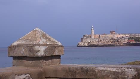 A-view-along-the-waterfront-Malecon-in-Havana-Cuba