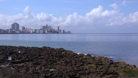 A-good-view-of-the-city-of-Havana-Cuba-along-the-famed-Malecon-waterfront