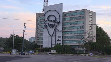 Eröffnungsaufnahme-Des-Regierungsgebäudes-In-Havanna-Kuba