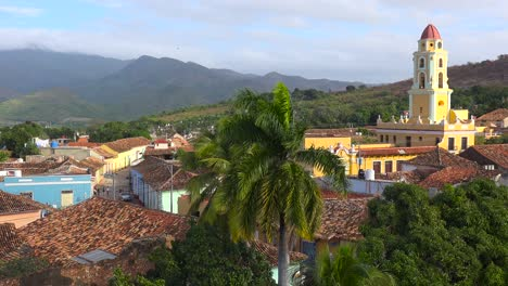 A-beautiful-overview-of-the-town-of-Trinidad-Cuba-with-The-Church-Of-The-Holy-Trinity-visible-1