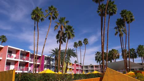 A-busy-and-colorful-resort-hotel-in-Palm-Springs-California-1