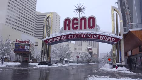 The-Reno-arch-greets-visitors-to-Reno-Nevada-during-a-winter-snowstorm