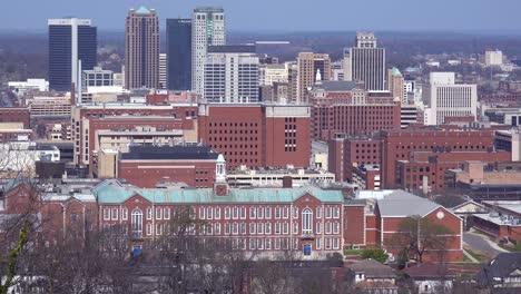 Establishing-shot-of-the-skyline-of-downtown-Birmingham-Alabama-3