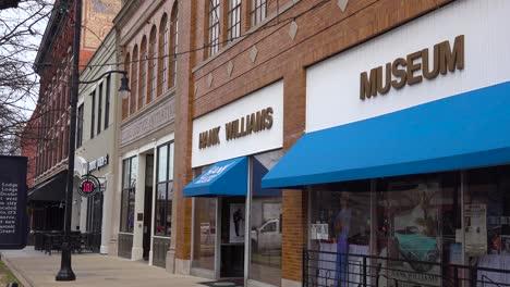 The-Hank-Williams-museum-in-Montgomery-Alabama
