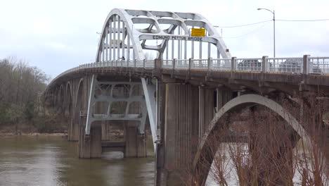 The-Edmund-Pettus-Bridge-a-historic-civil-rights-site-leads-into-Selma-Alabama