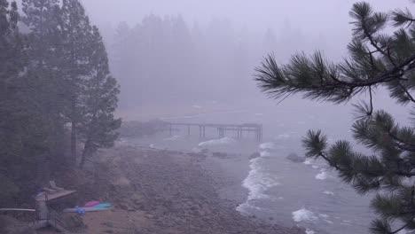 A-snowstorm-strike-at-Lake-Tahoe-Nevada