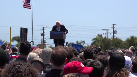 Bernie-Sanders-speaks-in-front-of-a-huge-crowd-at-a-political-rally-and-declares-Donald-Trump-toast