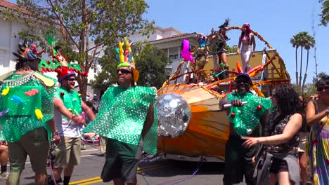 Trapeze-performers-do-routines-inside-a-large-inflatable-balloon-during-the-solstice-parade-in-Santa-Barbara-California-1