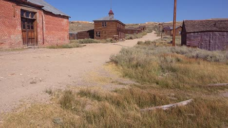View-along-the-abandoned-main-street-of-Bodie-California