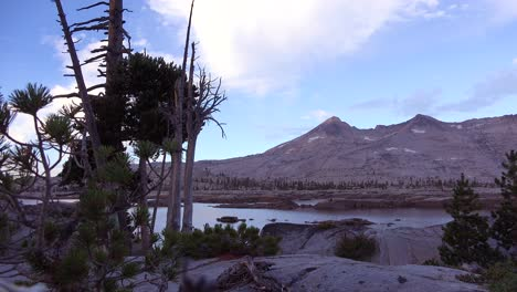 Time-lapse-of-clouds-passing-in-the-Desolation-Wilderness-of-the-Sierra-Nevada-mountains
