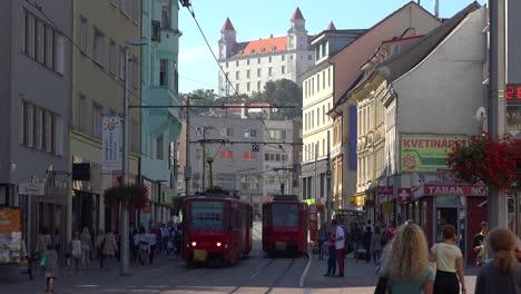 The-busy-streets-of-Bratislava-Slovakia