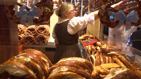 Pretzels-are-sold-at-a-booth-during-Oktoberfest