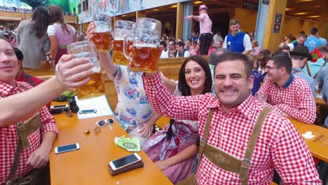 People-drink-sing-and-celebrate-at-Oktoberfest-Germany-1