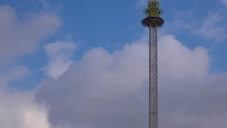 A-thrill-ride-at-an-amusement-park-involves-a-high-tower-drop