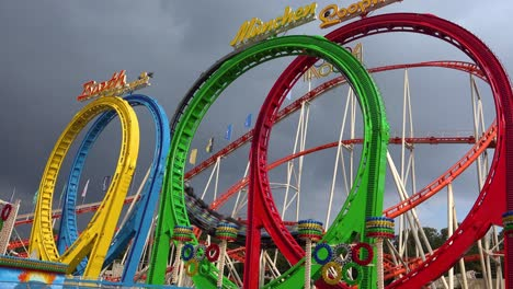 A-roller-coaster-at-an-amusement-park-offers-thrills-1