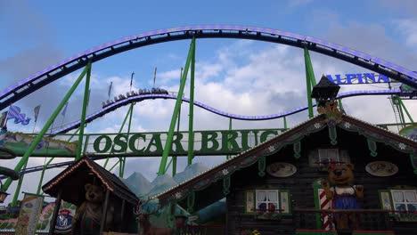 A-roller-coaster-at-an-amusement-park-offers-thrills-2