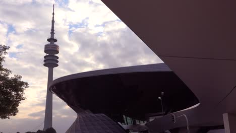 Establishing-shot-of-BMW-headquarters-in-Munich-Germany-5