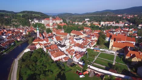 An-aerial-view-of-Cesk-Krumlov-a-lovely-small-Bohemian-village-in-the-Czech-Republic-3
