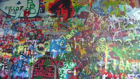 Graffiti-art-decorates-the-John-Lennon-Wall-of-free-speech-in-Prague-Czech-Republic-4