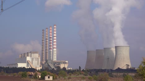 A-large-nuclear-power-plant-generates-electricity-in-Northern-Greece