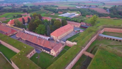 Haunting-aerial-over-the-Terezin-Nazi-concentration-camp-in-Czech-Republic-2